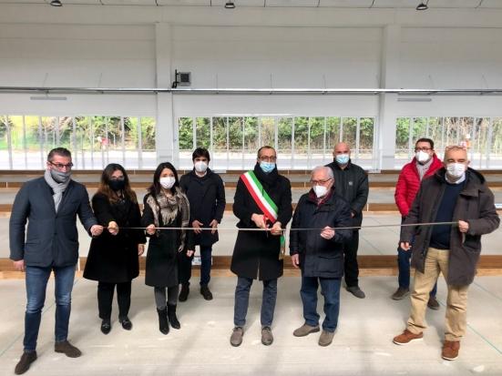 Ecco il nuovo Bocciodromo di Pesaro: terminati i lavori presso la struttura in via dell'Acquedotto
