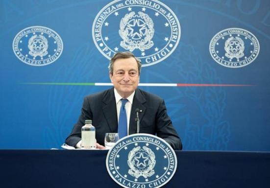 Draghi ha detto che dal 26 aprile tornano le zone gialle e si procederà a graduali riaperture