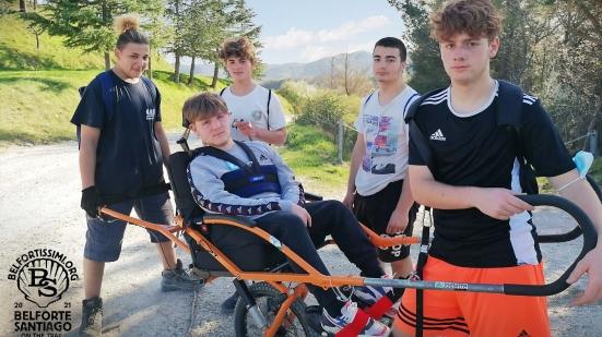 Cinque giovanissimi di Belforte e il Cammino di Santiago come obiettivo: un bellissimo progetto da sostenere