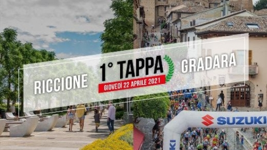 Domani inizia il Giro di Romagna con la prima tappa Riccione - Gradara: le modifiche alla viabilità
