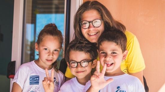 Centri Estivi Sportivi JUMP e bambini insieme alla scoperta di una corretta alimentazione
