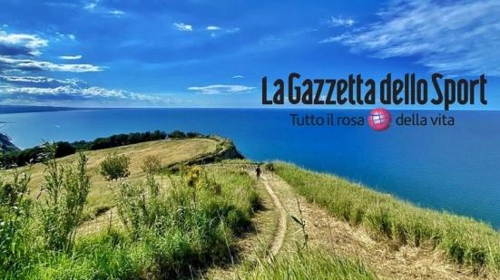 """""""Il Parco San Bartolo tra le costiere più belle d'Italia"""": il servizio e l'omaggio de La Gazzetta dello Sport"""