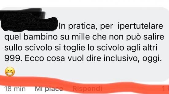 """Parco giochi inclusivo al Miralfiore, l'assessore Belloni: """"Un commento così schifoso non lo avevo mai visto"""""""