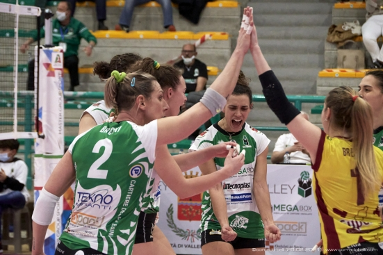 «Tutti uniti fino alla fine»: la Megabox Volley verso Gara 2 contro Sassuolo