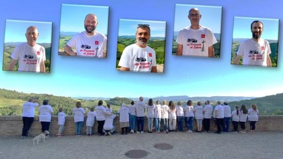 """""""Dalla croce di Pozzuolo alla croce del Catria"""": un cammino di rinascita per la Nuova via di San Paterniano"""