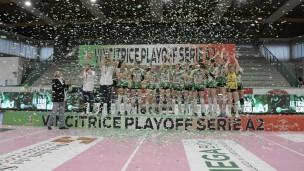 Un sogno che si avvera: Megabox Volley Vallefoglia promossa in Serie A1