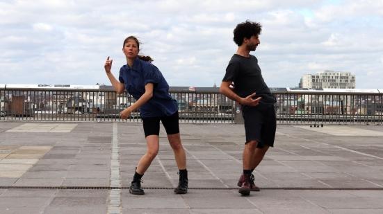 """I vincitori di Danza Urbana XL Martina Barjacoba e Ares D'Angelo domani alla """"Pescheria"""" per una doppia replica"""