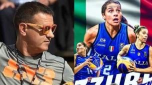 La nazionale femminile di basket 3x3 ai giochi olimpici di Tokyo in memoria di Gianluca Mattioli