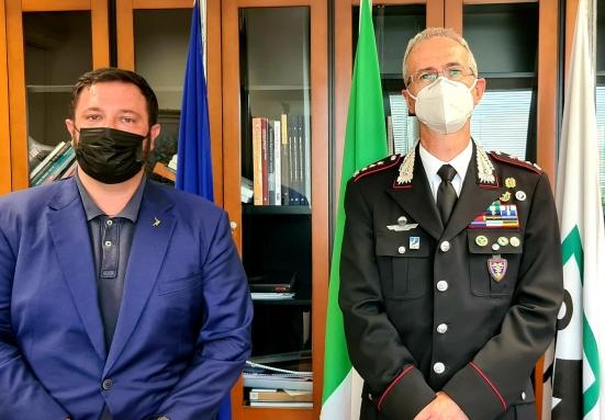 La Regione Marche vuole collaborare con i Carabinieri forestali per il contenimento dei cinghiali