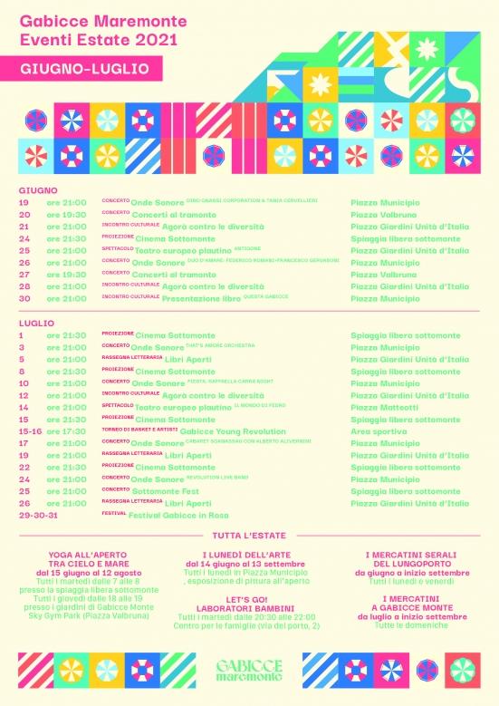 A Gabicce Mare e Monte si riaccende l'estate a suon di musica: sabato l'inaugurazione del calendario estivo
