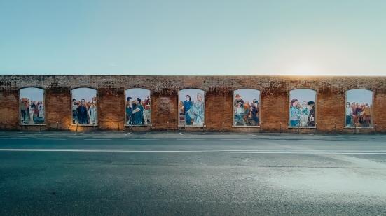 Inaugurata l'opera per ricordare le vittime del Covid-19 e chi ha protetto la comunità