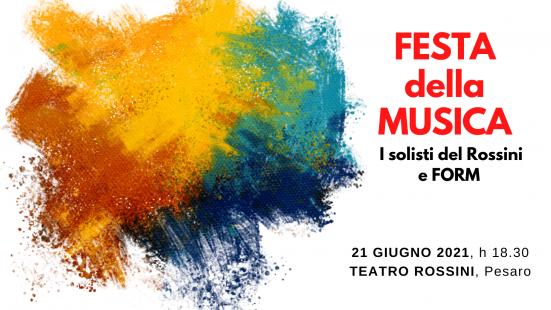 In occasione della Festa europea della Musica, le giovani promesse del Conservatorio Rossini suoneranno con la FORM