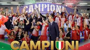 L'Italservice Pesaro è di nuovo campione d'Italia