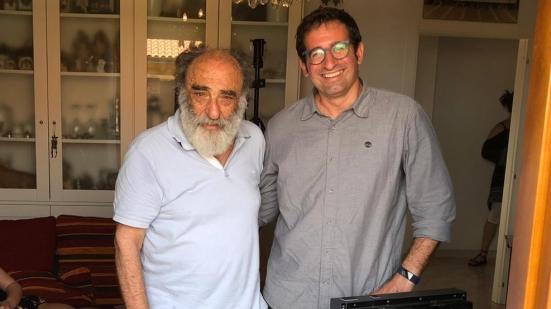 """A Gradara le riprese del nuovo cortometraggio """"Mascherine"""" scritto e diretto da Alessandro Haber"""