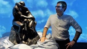 """Inaugurata la mostra """"Rodin a Gradara"""" con un capolavoro in bronzo esposto a Palazzo Rubini Vesin"""
