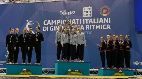 """La Ginnastica Aurora Fano si conferma Campione d'Italia, il sindaco Seri: """"Che stupenda notizia"""""""