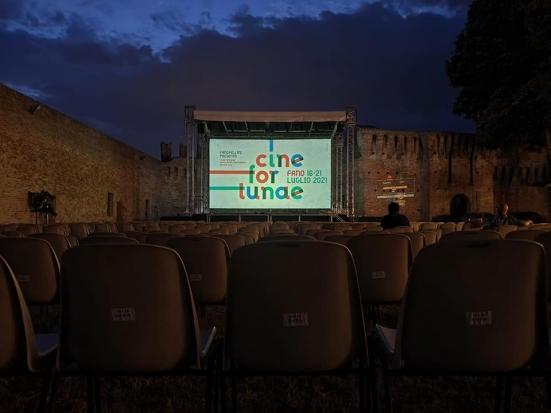 Alcuni eventi di CineFortunae sono stati rimandati per il maltempo