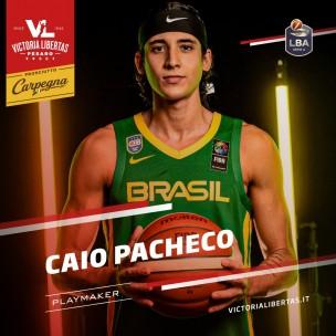Caio Pacheco è il nuovo play della Carpegna Prosciutto Basket Pesaro