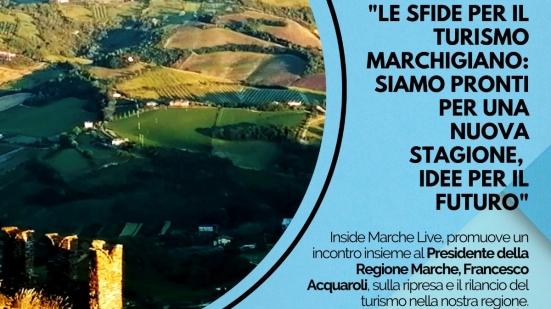 Inside Marche Live incontra Francesco Acquaroli presidente della Regione Marche