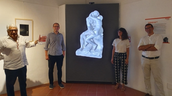 """""""Rodin a Gradara"""", una mostra immersiva e coinvolgente grazie alle scenografie 3D progettate dallo Studio Stark"""