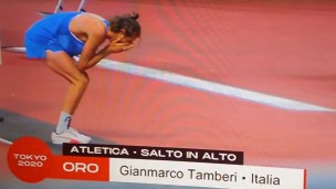 Da Civitanova Marche con furore, oro storico alle Olimpiadi di Tokyo per Gianmarco Tamberi nel salto in alto