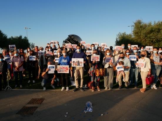 È stato molto partecipato il sit in Le Donne Afghane Esistono - Together We Stand, a Pesaro