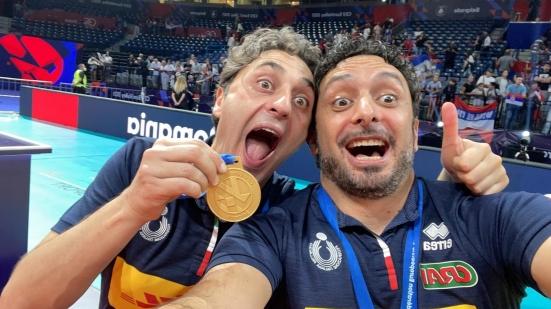 Da Marotta con furore, i marchigiani Mazzanti e Bertini alla guida dell'Italvolley campione d'Europa