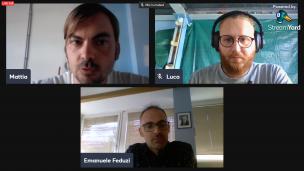 Verso il #secondotempo: la video-intervista a Emanuele Feduzi