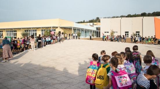 Inaugurata la nuova scuola primaria di Cuccurano, la struttura di Via Dubcek ospiterà circa 200 studenti