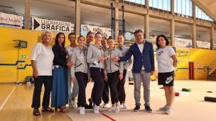 Il sindaco Seri e l'assessore Brunori premiano la Ginnastica Aurora Fano