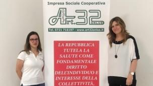 Sempre più in rosa il Consiglio di Amministrazione dell'Impresa Sociale Cooperativa Art. 32 Onlus