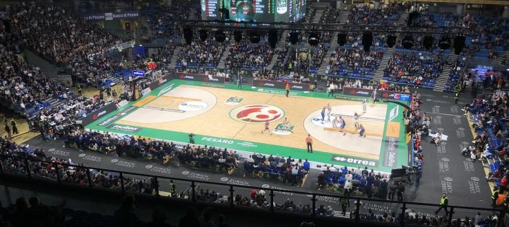 Le Final Eight 2022 di basket si disputeranno a Pesaro