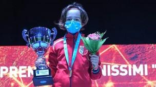 Campionati italiani di scherma, la giovanissima pesarese Emma Venerucci conquista il titolo nazionale