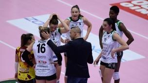 Megabox Volley Vallefoglia, esordio storico nella massima serie con sconfitta a testa alta