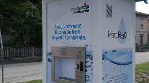 Marche Multiservizi, sempre più utilizzate dai cittadini le diciannove Casette dell'Acqua distribuite nel territorio