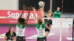 """Megabox Vallefoglia sconfitta in quattro set da Busto Arsizio, Bonafede: """"La squadra ha dato tutto"""""""